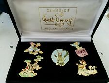 Tinker Belle, Cinderella dress Walt Disney Classics Collection Pin Set- WDCC New