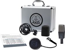 AKG C 414 XLS Studio Multipattern Condenser Microphone Set C414XLS C414 SEALED!