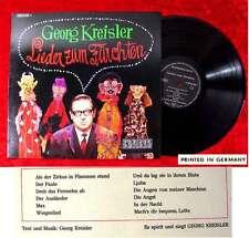 LP Georg Kreisler: Lieder zum Fürchten (Preiser 062-92 060) D