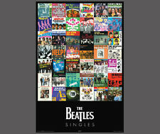 "The Beatles 42 SINGLES Record Album Covers POSTER (24""x36"" Licensed Edition)"
