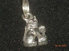 Wholesale Lot # 394 Pewter Charm Cat Pendant Earring Key Chain Craft Items