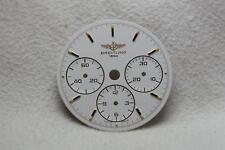 Genuine Breitling Callisto Chronograph White Dial - 26.5mm NOS Ref 80520 Cal 11