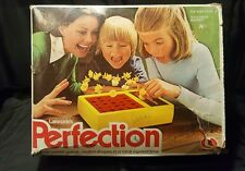 Vintage Lakeside Perfection Game  1977 Timer Race Works Great No. 8370 With Box