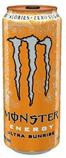 Monster Energy Drink Ultra Sunrise, 16 Ounce (Pack of 24) Drinks Sports Stamina