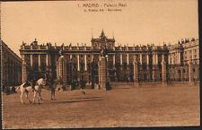 ANTIGUA POSTAL MADRID . PALACIO REAL . ROISIN . MAS EN MI TIENDA CC1603