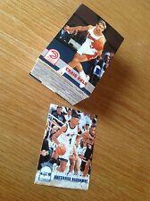 Juego Completo De Aros 93-4 Series 2 baloncesto de la NBA Trading Cards (301-421)