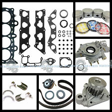 NEW 01-05 Honda Civic EX HX V-Tec 1.7L D17A2 1.7 SOHC Master Engine Rebuild Kit