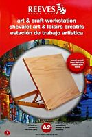 Reeves A2 Art & Craft Workstation, Large combined Drawing Board and Easel
