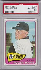 1965 Topps Roger Maris #155, PSA NM-MT+ 8.5, Yankess