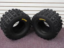 KAWASAKI KFX 450R AMBUSH SPORT ATV TIRES 20X10-9 REAR (2 TIRE SET)  4PR