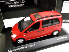 MINICHAMPS 1/43 Mercedes Benz Vaneo  2002   -  Red