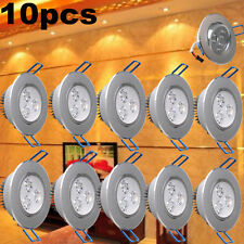 10X 9W Downlight LED Bulb Recessed Ceiling Light Spot Lamp Warm White AC85-265V
