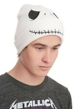 Disney The Nightmare Before Christmas Jack Smile Face Knit Beanie Hat NWT!