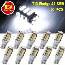 10PCS Super White T10 42-SMD Car RV Trailer 921/194/168 Backup Reverse LED Light