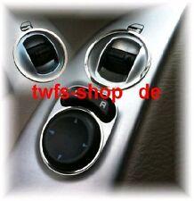 D Chrysler Jeep Cherokee KJ Chrom Ringe für Schalter Fensterheber Edelstahl