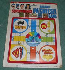 Superfriends Magnetic Pa'cheesie Game by Nasta Ind, Inc. dated 1980