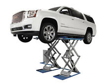 Atlas SLP-9K Full Rise 9,000 LB Capacity Auto Car Truck Scissor Lift