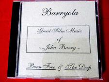 Barryola Born Free/The Deep suite CD OOP John Barry Orig. Soundtrack Artemis