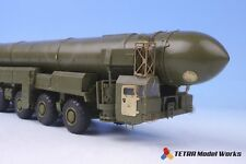 Tetra Model ME72001 1/72 Russian ICBM Launcher TOPOL Detail Up Set for Zvezda