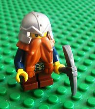 Lego Castle Dwarf Ginger Beared Pick Minifigs Dwarves