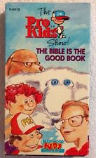 The Pro-Kids Show! (Prev. Viewed VHS) The Bible Is The Good Book RARE HTF