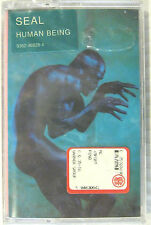 """SEAL """"HUMAN BEING""""  musicassette sealed"""