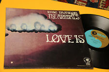 ERIC BURDON ANIMALS LP LOVE IS 1°ST ORIG USA 1968 EX GATEFOLD CARTONATA !!!!!!!