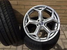 "18"" FORD FOCUS 5 STUD ST STYLE ALLOY WHEELS AND TYRES"