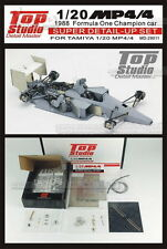 1/20 McLaren MP4/4 Honda Super Detail set for the Tamiya kit ~ Top Studio 29011