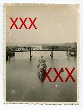 KREUZER KARLSRUHE - orig. Foto, Columbia River, Portland, Juni 1932