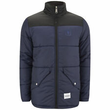 SUPREMEBEING FORTRESS NAVY BLACK PADDED JACKET COAT SIZE LARGE RRP £130.00