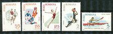 Roemenië 2452 - 2456 postfris  motief Sport