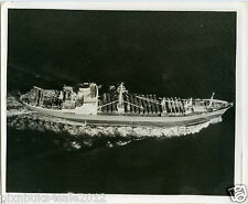 1962 Press Photo of Soviet Ship Kasimov carrying 15 I28 Bombers to Cuba.