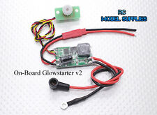 Rc on-board glow driver starter v2 avion heli camion. uk stock, envoi rapide!