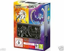 Nintendo New 3DS XL Solgaleo & Lunala Limited Edition Konsole Pokemon NEU & OVP