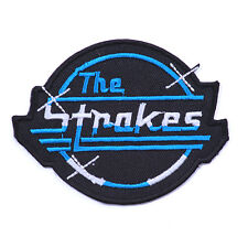 The Strokes heavy metal music iron on sew on embroidered band patches badges