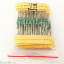 230Pcs 23-Value 0307 DIP Color Wheel Inductor Loop Inductance Kit 1/4W 0.1uH-1mH