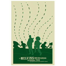 The Melvins Big Business Band & Gav Beattie Signed & Numbered Print Ed 50