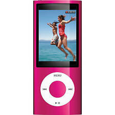 Official Apple iPod Nano 5th Gen Pink *VGWC*+Warranty!!