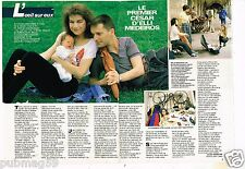 Coupure de presse Clipping 1987 (2 pages) Elli Medeiros