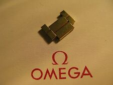 NOS Omega 16mm Gold Plated Link for Bracelet No. 1340 - New & Unused