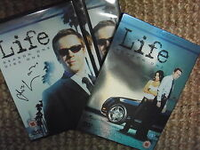 Damian Lewis signed in person dvd boxset Life season one
