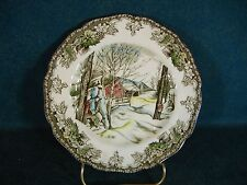 Johnson Brothers The Friendly Village Bread Plates - Sugar Maples - England
