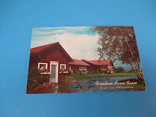 Freedom Acres Farm Wilmot Flat, New Hampshire Vintage Colorful Postcard PC17