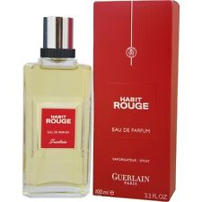Habit Rouge by Guerlain Eau de Parfum Spray 3.4 oz