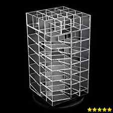 Ikee Design Premium Acrylic Rotating Cosmetic 64 Lipsticks Tower Organizer 4 ...
