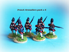 French & INDIAN WAR-Francese Granatieri x 8
