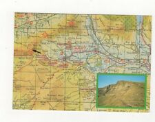 Hope Valley Derbyshire Map Postcard 421a