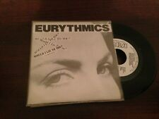 "EURYTHMICS SPANISH WHITE LABEL 7"" SINGLE SPAIN WOULD I LIE TO YOU"