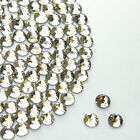 Beautiful Sparkly Crystal Clear hotfix/iron on Rhinestone/Diamante 2,3,4,5,6,7mm